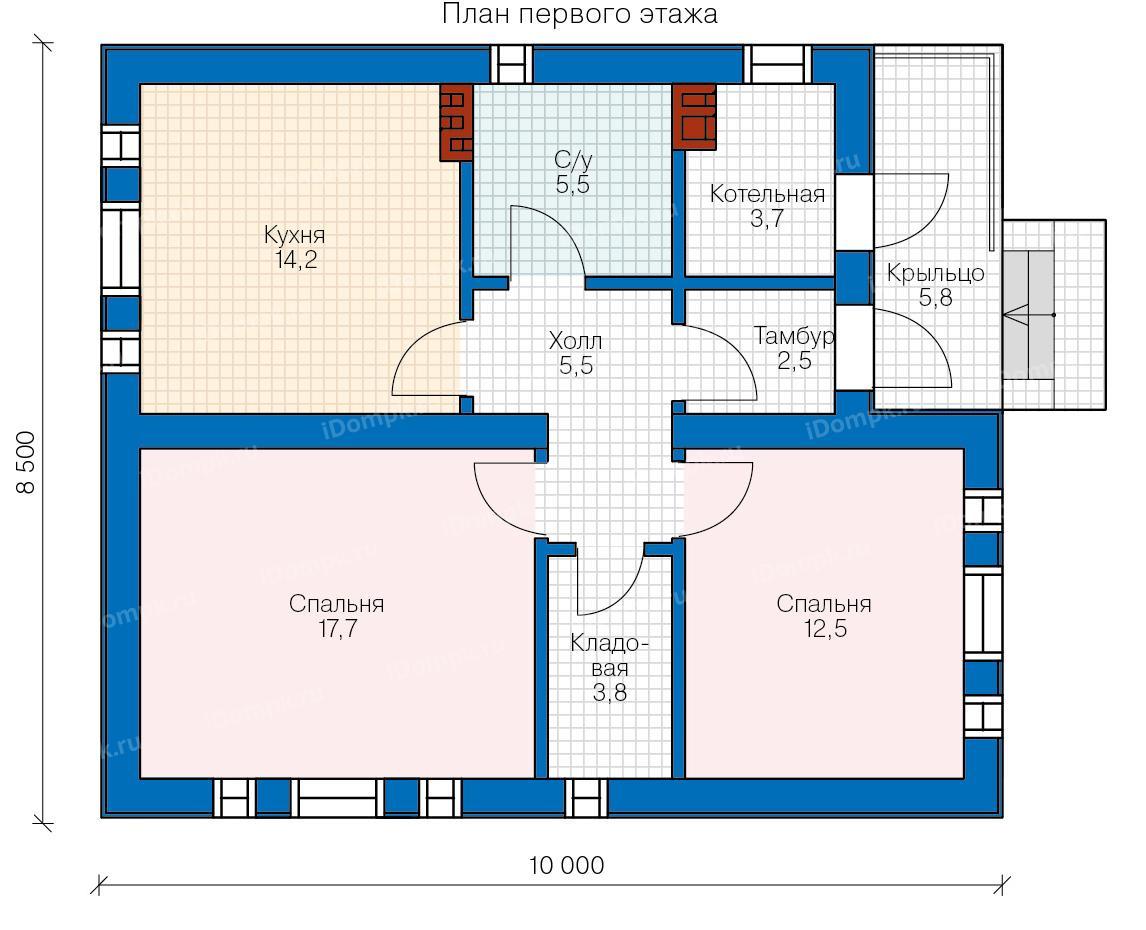 Проекты и строительство одноэтажных и двухэтажных